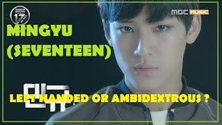 [EM-T] Mingyu (Seventeen) - Left handed/ambidextrous Kpop idols project #3