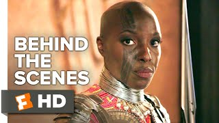 Black Panther Behind the Scenes - Dora Milaje (2018) | Movieclips Extras