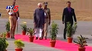Vice-President Hamid Ansari Arrives in Hyderabad..