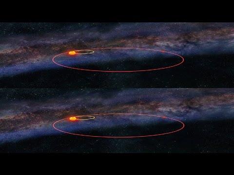 Вселенная: Немезида - Злой двойник Солнца. FullHD (Вертикальная анаморфная стереопара)