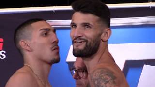 William Silva V Teofimo Lopez - Weigh In & Face off - BOXING