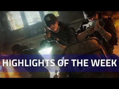 Highlights of the Week #8 - Rainbow Six Siege