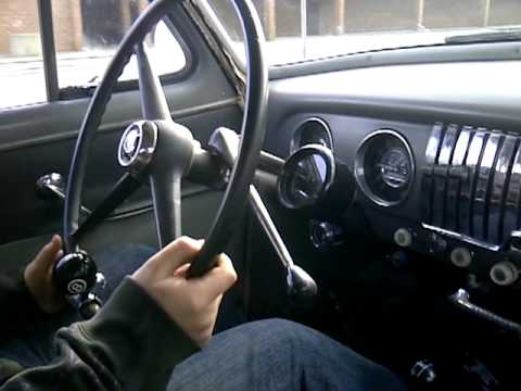 52 Chevy New 3 Speed Floor Shifter Youtube