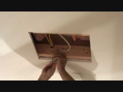 How To Install An Electrical Quot Pancake Quot Box Youtube