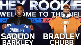 Saquon Barkley & Bradley Chubb's Journey from the Combine to the 2018 NFL Draft