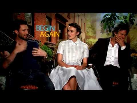 Adam Levine, Keira Knightley & Mark Ruffalo Unfiltered BEGIN AGAIN Interviews