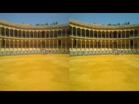 Plaza de Toros de Ronda. 3D HD SBS