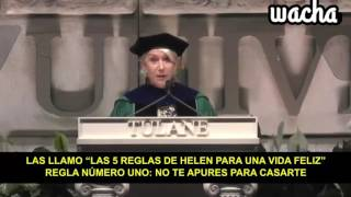 Las cinco reglas de Helen Mirren para ser feliz