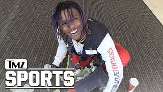 Famous Dex Calls Out Quavo & Bieber In Basketball | TMZ Sports