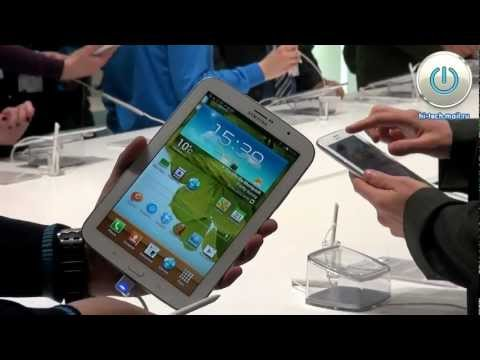 MWC 2013 Samsung Galaxy Note 8.0