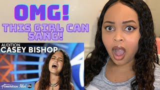 Singer Reacts to Casey Bishop American Idol Audition