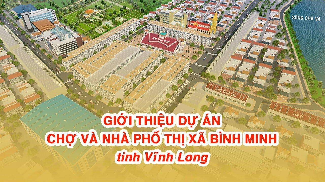 Chính thức công bố mở bán dãy nhà phố thương mại đẹp nhất dự án Chợ Bình Minh video