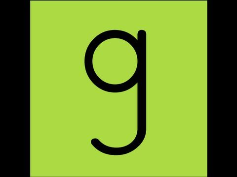 Letter G Song Video - YouTube