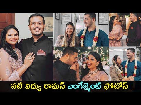 Maharshi actress Vidyu Raman gets engaged, viral pics