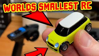 worlds smallest FULL FUNCTION rc car