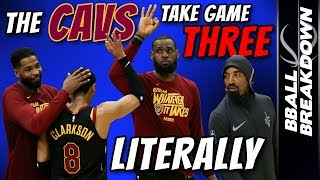 CAVALIERS Take Game THREE Literally