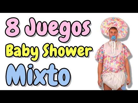 8 Juegos Para Baby Shower Mixto Hd Videomoviles Com
