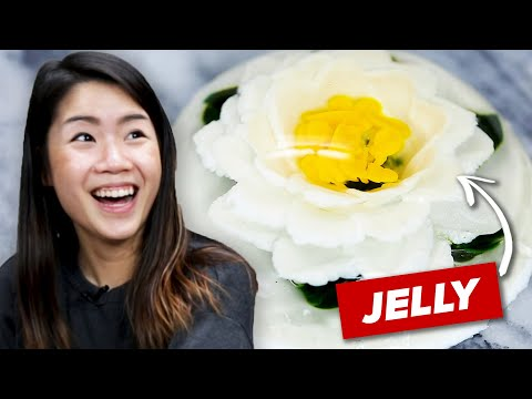 I Mastered The Gelatin Flower Cake