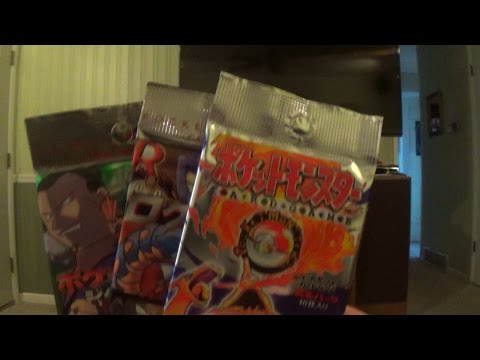 Opening 3 More Japanese Pokemon Booster Packs