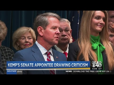 Gov. Kemp appoints Kelly Loeffler to fill U.S. Senate seat