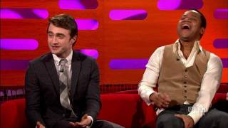 DANIEL RADCLIFFE: Meeting the In-Laws! (The Graham Norton Show)