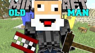 Minecraft: I AM AN OLD MAN! (BINGO CARDS, DENTURES, CANES, & MORE!) Mod Showcase
