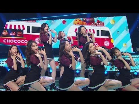 《ADORABLE》 gugudan(구구단) - Chococo(쵸코코) @인기가요 Inkigayo 20171119