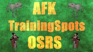 Top 5 Best AFK Training Spots OSRS Oldschool Runescape 2007