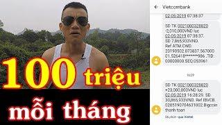 Kiếm 100 Triệu Trên Điện Thoại Mỗi Tháng | Kiếm Tiền Online