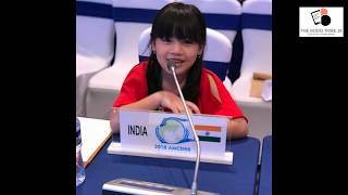 In concise: 7 year old girl Licypriya Kangujam from Manipur at UN