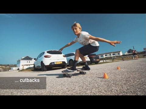 Video MINDLESS Truck SURFSKATE Sandblas