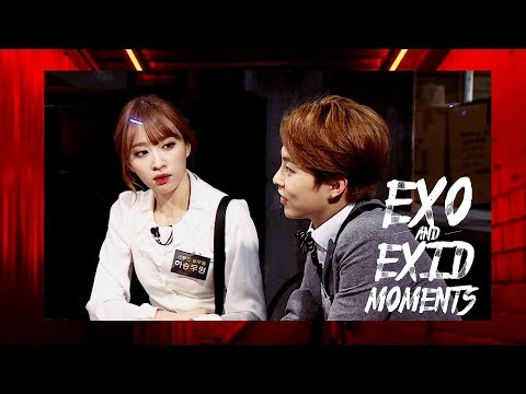 EXO AND EXID MOMENTS