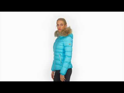 Bogner Sport Bogner Kiki D Womens Ski Jacket in Turquoise