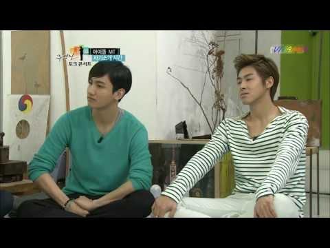 120503 MBC JBJ TC TVXQ cut_3(창민의 잔소리& 정다정)