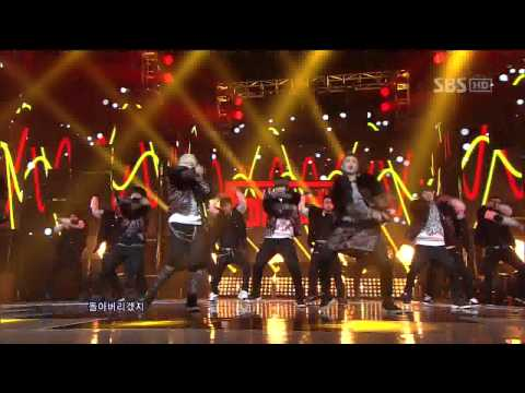 Block B [난리나]   @SBS Inkigayo 인기가요 20120205