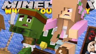 Minecraft Who's Your Daddy- BABY NUKES THE HOUSE!! W/ Little Kelly
