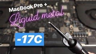 Liquid Metal on MacBook Pro Retina INSANE TEMPS