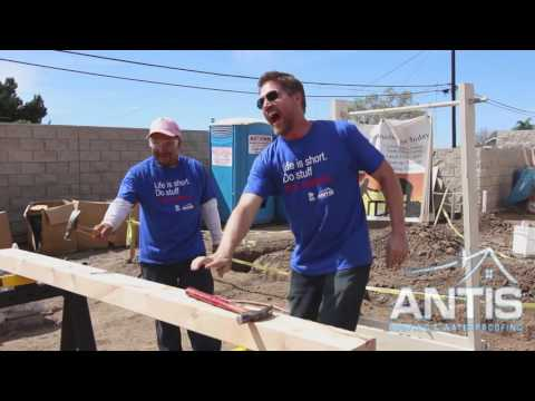 Antis Habitat for Humanity Team Build in La Habra
