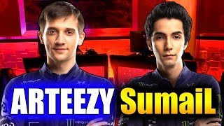 SUMAIL vs ARTEEZY - 1v1 MID SOLO SHOWMATCH! - WSOE DOTA 2 - YouTube