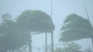 Shocking footage shows Cyclone Marcus slamming the Australian coast
