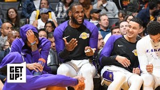 Why the Lakers' 'death lineup' would never work   Get Up!