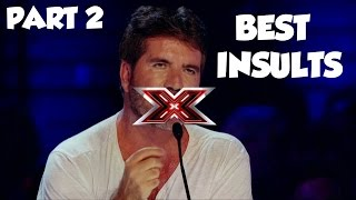 Simon Cowell Best Insults PART 2 | SAVAGE