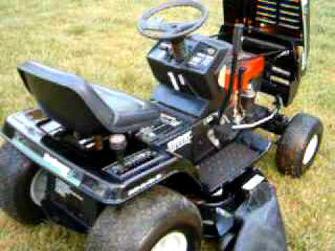 Mtd Yard Machines Riding Mower Youtube