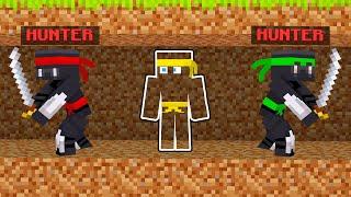 NINJA HUNTERS VS SPEEDRUNNER In Minecraft!