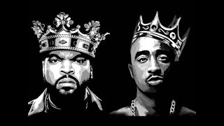2Pac ft Ice Cube - MC Ren & DMX - Real G's (2020)
