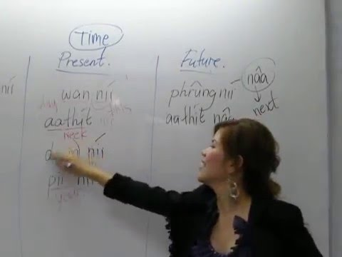 Learning Thai : Time Day month year