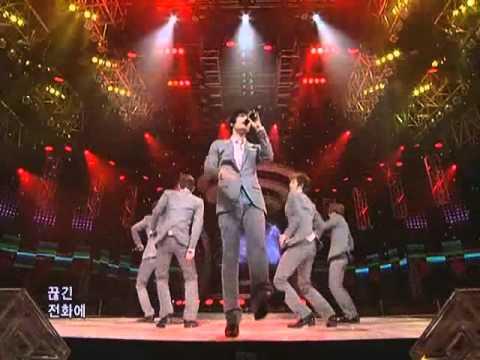 TVXQ - Wrong Number (동방신기-롱넘버) @SBS Inkigayo 인기가요 20081207