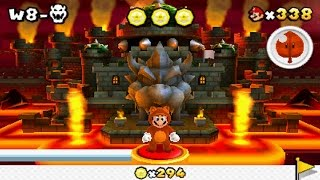 Super Mario 3D Land - World 8 Final Castle