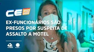 Ex-funcionários são presos por suspeita de assalto a motel
