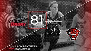 (#9) Drury Lady Panthers vs. Davenport Highlights [11.24.18]